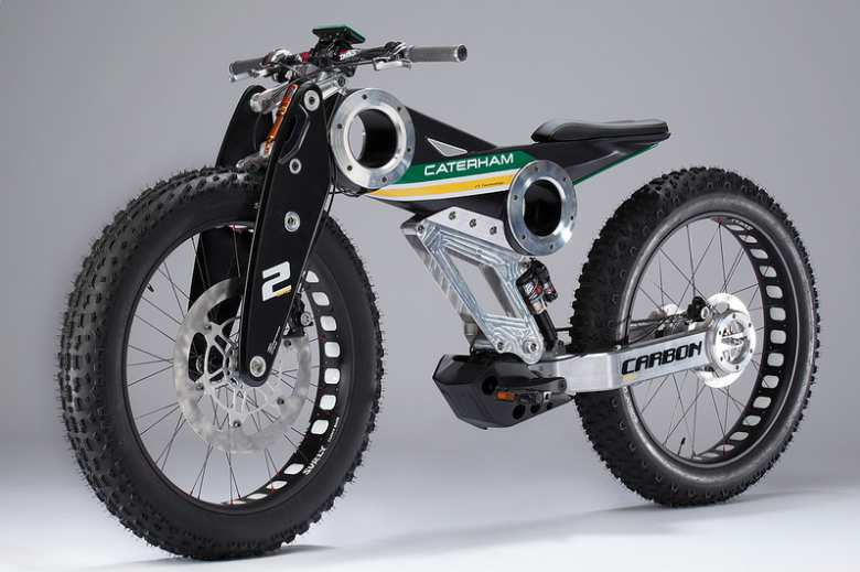 Caterham Bikes: Classic E-Bike and Carbon E-Bike, made in the UK (2/2)