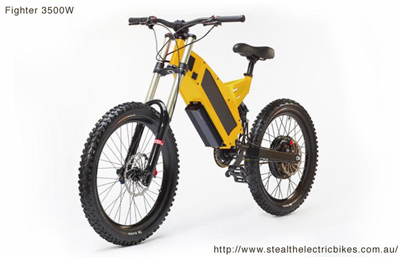 Stealth Electric Bikes - FIGHTER / BOMBER: e-bikes go wild (1/2)